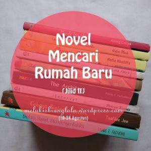 banner novel mencari rumah baru